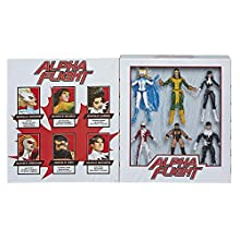 "Marvel Classic Hasbro Legends Series Toys 6"" Collectible Action 6 Pack Alpha Flight 6 Pack, 6 Figures with Premium Design, for Kids Ages 4 & Up (Amazon Exclusive)"