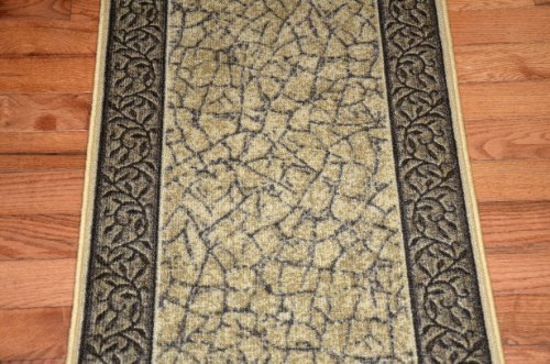 Dean Washable Carpet Rug Runner Garden Path Gold and for sale  Delivered anywhere in Canada