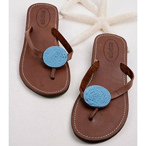 278a8e97cd6c Women disc thong sandals Sandy reef thong flip flops Beaded disc flip flops