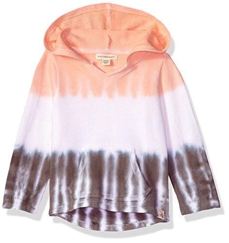 (Burt's Bees Baby Unisex Baby Sweatshirt, Long Sleeve Zip-Up Hoodies & Pullover Sweaters, 100% Organic Cotton, Sunrise dip dye, 3-6 Months)