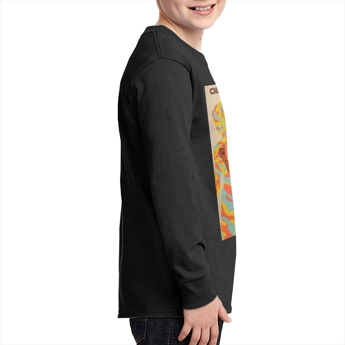 MichaelHazzard Childish Gambino Youth Wearable Long Sleeve Crewneck Tee T-Shirt for Boys and Girls