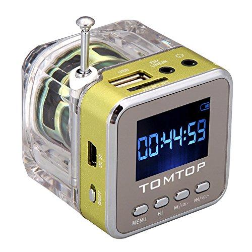 204 opinioni per Andoer Mini Digital altoparlante portatile di musica MP3/4Player Micro SD/TF