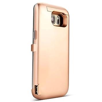 Para Samsung Galaxy S7 , Transer® 6000mAh bateria de reserva externa funda de cargador para Samsung Galaxy S7 (Oro)