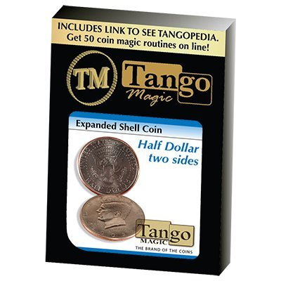 Expanded Shell Half Dollar Two Sided by Tango