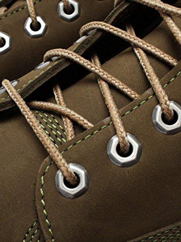 Timberland 6 inch Premium Waterproof, Botas De Cuero Impermeables Hombre Dark Olive