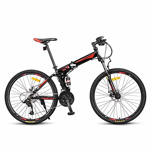 YEARLY Mountain folding bikes, Adults folding bicycles Speed Male Off-road...