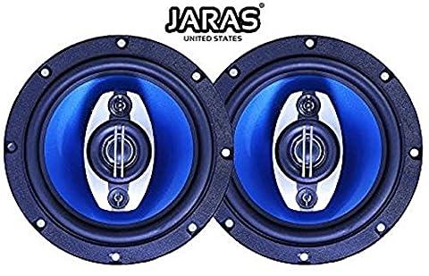 Jaras JJ-2646 Car Speakers 6.5-inch 360-watt 3-way Speakers (Pair) (Car Speakers)