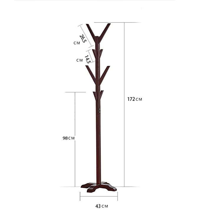 Amazon.com: NYDZDM 67.7 Inch High Coat Rack Stand Free ...