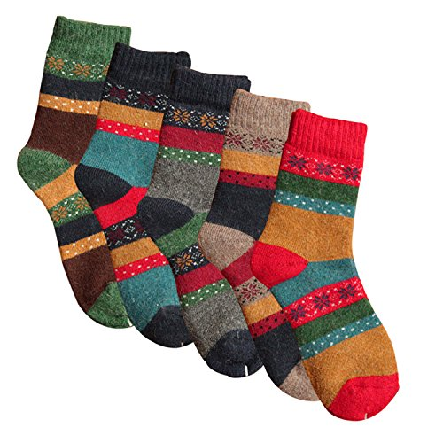 ysense-womens-thick-knit-warm-casual-wool-crew-winter-socks-5-piece