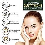 LA Organo Glutathione Skin Whitening Soap For Brightening & Whitening For All Skin Types, 100 g (Pack of 4)