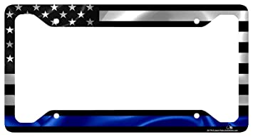 License Plate Covers & Frames Think Its Not Illegal Yet License Plate Frame License Plate Metal Frame License Plate Cover Tag Holder for US Vehicles Anodized Aluminum Vehicle License Plate Frame
