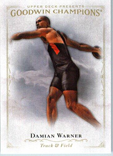 win Champions #39 Damian Warner Decathlon Card (Decathlon Card)