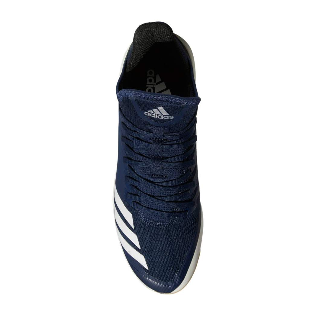 adidas Icon 4 Cleat - Men's Baseball 7 Collegiate Navy/White/Black by adidas (Image #2)