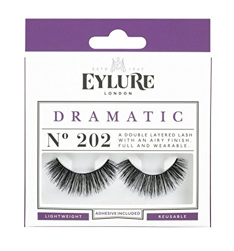 (Pack of 5 Pairs) Eylure Naturalites #202 False Eyelashes Lashes