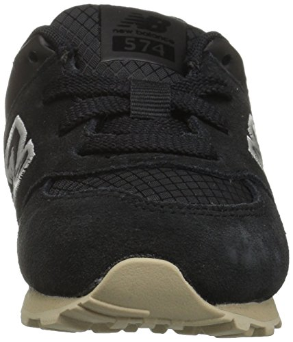 New Balance Unisex-Kinder Kl574wtg M Sneakers Black/Tan