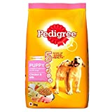 Pedigree Puppy Dog Food Chicken & Milk, 3 kg Pack