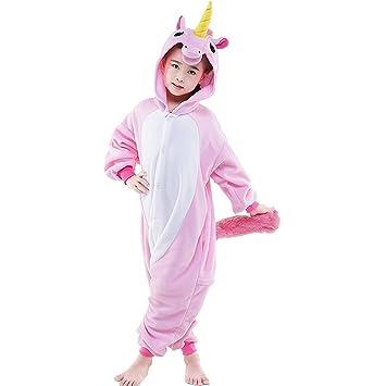 unicsex dulce Unicornio Mono Pijama Disfraces Pijama Para Niños/Adultos