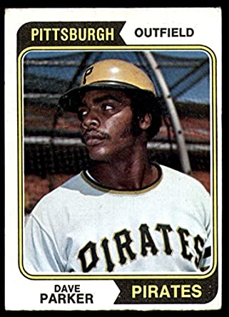 Amazoncom 1974 Topps 252 Dave Parker Pittsburgh Pirates