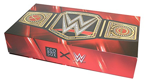 Odd Sox Limited Edition WWE Legends Gift Box Set 360 Knit Crew Sock (8-Pair) by Odd Sox (Image #4)