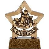 "3.25""Mini Star Trophy Go Karting A1118"