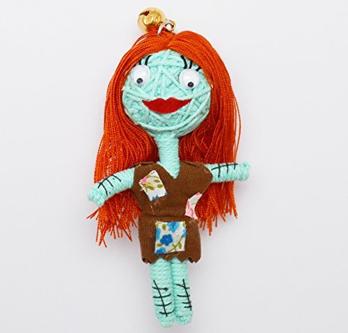 (VD009) Sally Night Before X-mas Handmade String Voodoo Doll Keychain