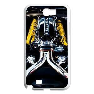Dodge Samsung Galaxy N2 7100 Cell Phone Case White Gift pjz003_3175907