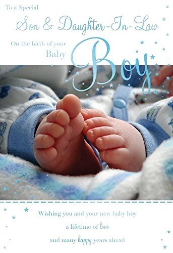 amazon com to a special son daughter in law on the birth of your