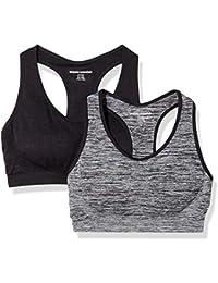 fd36d217ff Women s 2-Pack Light Support Seamless Sports Bras