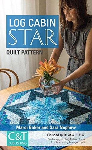 Log Cabin Star Quilt Pattern - Star Log Quilt Cabin