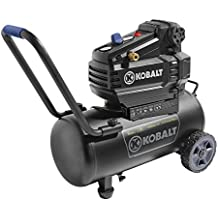 Kobalt 8-Gal Tank Portable Air Compressor 150 PSI Oil Free Electric , 1.8 HP