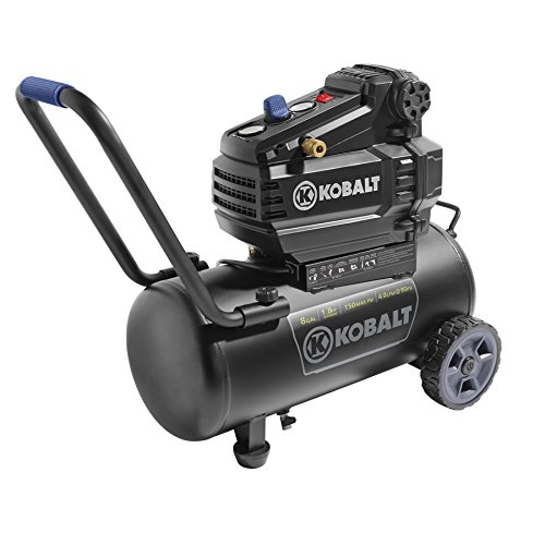 NEW Kobalt 8-Gal Tank Portable 150 PSI Oil Free Electric Air