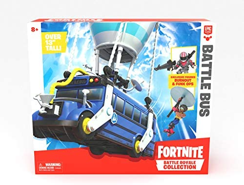 Fortnite Battle Bus Battle Royal Collection with 2 Exclusive Characters