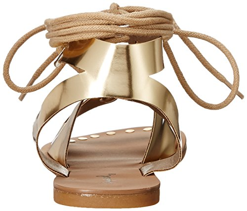 Qupid Sandal Gold 914 Women's Athena Gladiator zvq4z1Rw