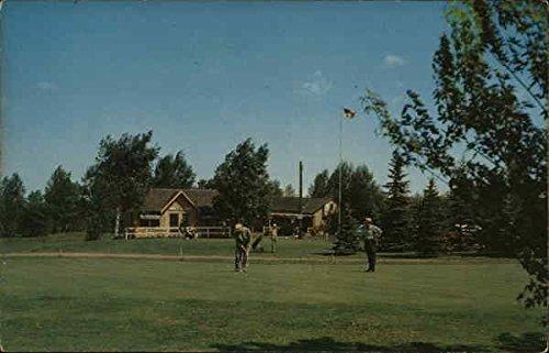 Nemadji Golf Course Superior, Wisconsin Original Vintage Postcard