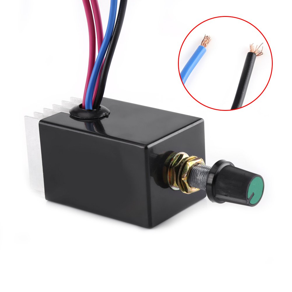 Amazon.com: Universal DC 12V/24V Motor Speed Controller Switch For ...