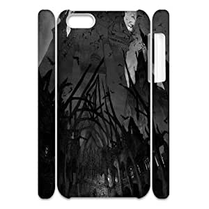 3D Vampire Cases For iPhone 5C White Yearinspace144383