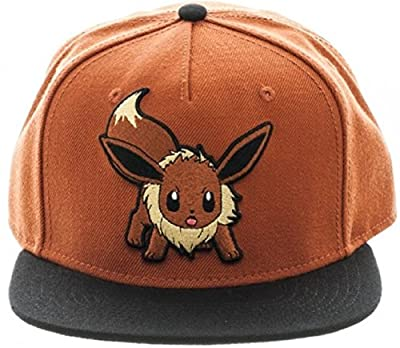 Pokemon Eevee Logo Adjustable Snapback Cap/Hat