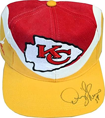 Derrick Thomas Autographed Kansas City Chiefs Hat - Autographed NFL Hats f994f15a7