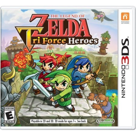 The Legend of Zelda: TriForce Heroes (Nintendo 3DS) & Hardcover Collector's Edition Guide