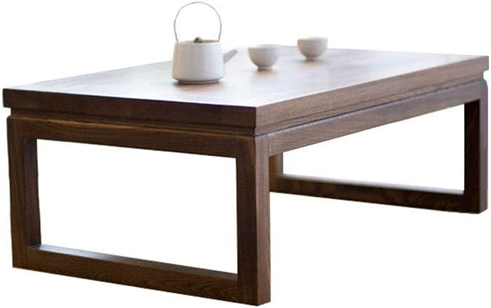 RANRANJJ Mesa de café, rústicos de Madera y Metal Mesa de cóctel for Sala de Estar, Espresso Vendimia (Size : 60 * 40 * 30cm): Amazon.es: Hogar
