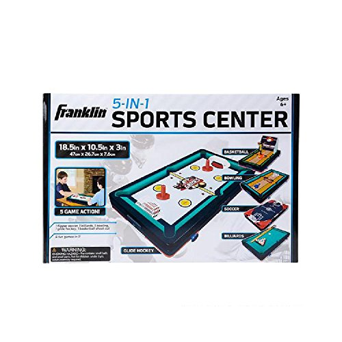 Franklin 5 In 1 Sports Center Table Top by Bargain World