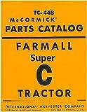 Farmall Super C Tractor Parts Catalog Tc-44b Coil Binding