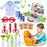 Best Kit For Kids - GINMIC Kids Doctor Kit, 22 Piece Kids Pretend Review