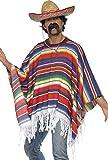 Smiffy's Poncho Costume multi-colored One Size