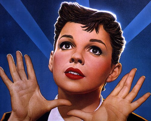 Judy Garland A Star Is Born Iconic Image Art 8x10 Promotional Photo