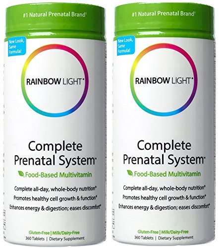 Rainbow Light Complete Prenatal System Multivitamin 360 Tablets
