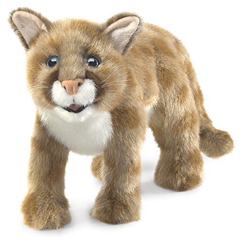 - Folkmanis Mountain Lion Cub Hand Puppet