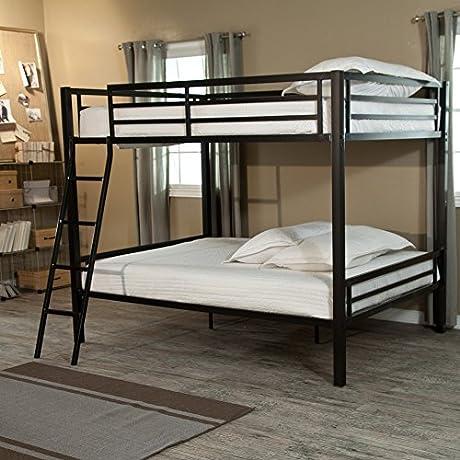 Duro Hanley Full Over Full Bunk Bed Black