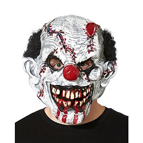 In Stitches Ripper Mask (Costume Beautiful In Stitches Ripper Clown Mask)