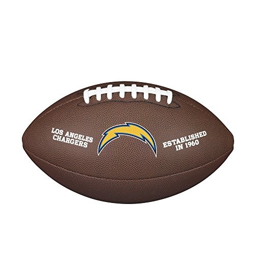 (NFL Team Logo Composite Football - Official, Los Angeles Chargers)